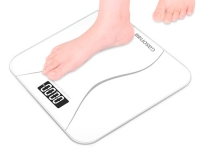 Весы напольные тонкие ЖК 180кг/50г для ванной комнаты Gason A2, белые. 48735