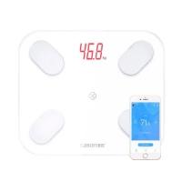Смарт весы напольные Bluetooth Smart диагностические умные GASON S4, белые. 48733