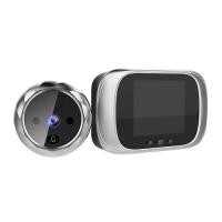 Видеоглазок цифровой с экраном 2.8 для входной двери c подсветкой и звонком F&D . 49253