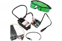 Мощный лазер для резки гравировки 5.5Вт 445нм TTL + защит. Очки F&D. 48990