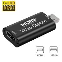 Карта видеозахвата внешняя, портативная, USB, HDMI, 1080p F&D. 49004