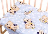 Сменный комплект Qvatro Gold SG-03 рисунок  голубой (мишки спят). 34708