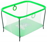 Манеж Qvatro LUX-02 мелкая сетка  зеленый (dog). 34215