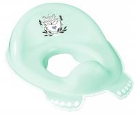 Накладка на унитаз Tega Little Fox (Plus Baby) PB-LIS-002 нескользящая 105 light green. 34459