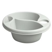 Гигиеническая миска Maltex Top and tail bowl big  gray. 33050