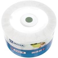 Диск DVD MyMedia DVD-R 4.7GB 16X Wrap Printable 50шт (69202). 48121