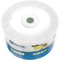 Диск CD Grantio MyMedia CD-R 700MB 52X Wrap Printable 50шт (69203). 48104