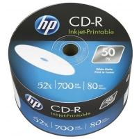 Диск CD HP CD-R 700MB 52X IJ PRINT 50шт (69301/CRE00070WIP-3). 48099