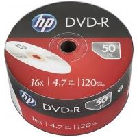 Диск DVD HP DVD-R 4.7GB 16X 50шт (69303/DME00070-3). 48102