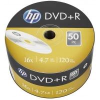 Диск DVD HP DVD+R 4.7GB 16X 50шт (69305/DRE00070-3). 48090