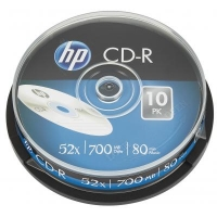 Диск CD HP CD-R 700MB 52X 25шт Spindle (69311/CRE00015-3). 48109