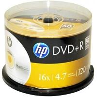 Диск DVD HP DVD+R 4.7GB 16X 50шт Spindle (69319/DRE00026-3). 48105