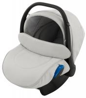 Автокресло детское Adamex Kite кожа 100% Q101 серый. 30904