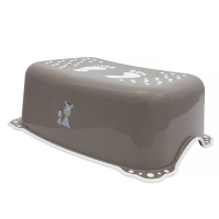 Подставка Maltex ZEBRA 6913 нескользящая  brown with white rubbers. 34613