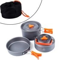 Набор туристической посуды для кемпинга на 2 человека, походный F&D. 49134