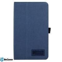 Чехол для планшета BeCover Slimbook для Pixus Touch 7 Deep Blue (703718). 42110