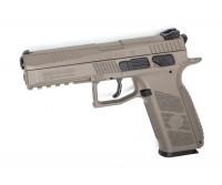 Пистолет пневматический ASG CZ P-09 Pellet FDE Blowback. 23702878