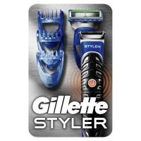 Бритва Gillette Fusion ProGlide Styler с кассетой+3 насадки для бороды/усов (7702018273386). 47159