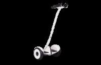 """Гироскутер с ручкой для детей и взрослых Monorim M1Robot Ninebot mini 10,5"""" (Music Edition) - Hand Drive White (Белый). 31174"""