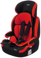 Автокресло Bair Beta 1/2/3 (9-36 кг) DB2426 черный - красный. 32889
