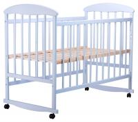 Кровать Наталка ОГ  ольха голубая. 34116