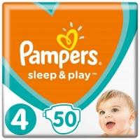 Подгузник Pampers Sleep & Play Maxi Размер 4 (9-14 кг), 50 шт (8001090669056). 47916