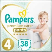 Подгузник Pampers Premium Care Pants Maxi Размер 4 (9-15 кг), 38 шт. (8001090759832). 47921