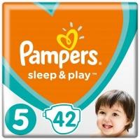 Подгузник Pampers Sleep & Play Junior Размер 5 (11-16 кг), 42 шт (8001090784674). 47925