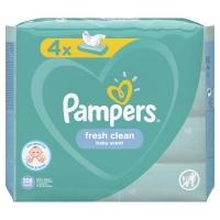 Влажные салфетки Pampers Fresh Clean 4х52 шт (8001841077949). 45802