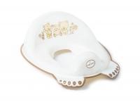 Накладка на унитаз Tega Teddy Bear MS-016 нескользящая 118 white pearl. 34470