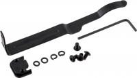 Универсальная клипса ClipDraw для скрытого ношения пистолета. Цвет - черный. 16760548