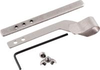 Универсальная клипса ClipDraw для скрытого ношения пистолета. Цвет - металл. 16760549