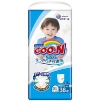 Подгузник GOO.N 12-20 кг, XL, 38 шт для мальчиков (843098). 48709