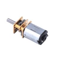 Мотор редуктор микро моторчик 12GAN20 30об/мин 6В F&D. 49141