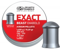 Пули пневматические (для воздушки) 4,5мм 1,05г (250шт) JSB Diabolo Exact Beast. 14530538