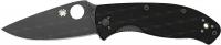 Нож Spyderco Tenacious Black. 870431