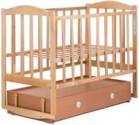Кровать Babyroom Зайчонок Z304 маятник, ящик  лакированная. 34091