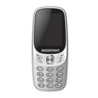 Мобильный телефон Assistant AS-203 Silver (873293012568). 47477