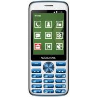 Мобильный телефон Assistant AS-204 Blue (873293012803). 47475