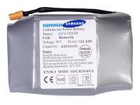 Батарея: SAMSUNG Li-ion 36v 4,4aH для гиробордов: 6,5, 8, 8,5, 10, 10,5 дюймов. 31277