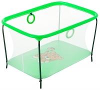 Манеж Qvatro LUX-02 мелкая сетка  зеленый (tiger). 34218