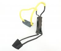 Рогатка Man Kung MK-T11 с упором ц:черный/желтый. 1000075
