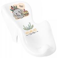 Горка для купания Tega Wild & Free Little Elephant DZ-003 нескользящая 103 white-green. 33169