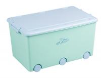 Ящик для игрушек Tega Little Bunnies KR-010 105 light green. 34872