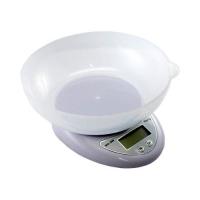 Весы кухонные электронные F&D до 7кг, точность 1г, с чашей. 48865
