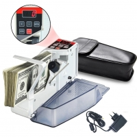 Счетчик банкнот купюр портативный, машина для пересчета YBC-V40 F&D. 49032