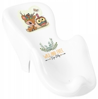 Горка для купания Tega Wild & Free Little Deer DZ-003 нескользящая 103 white-pink. 33167