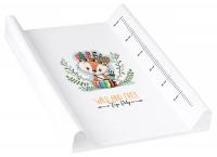 Пеленальная доска Tega Wild & Free Little Fox DZ-009 103 white. 34496