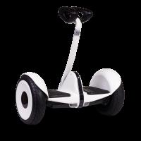 Гироскутер с ручкой для детей и взрослых Monorim M1Robot Ninebot mini 10,5 дюймов (Music Edition) White (Белый). 31163