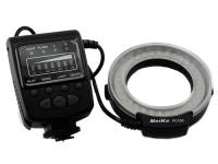 Макровспышка кольцевая Meike FC100 LED Canon Nikon. 44663